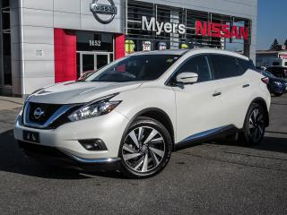 Used 2017 Nissan Murano PLATINUM, NAVIGATION, LEATHER SEATS, MOONROOF!! for sale in Orleans, ON