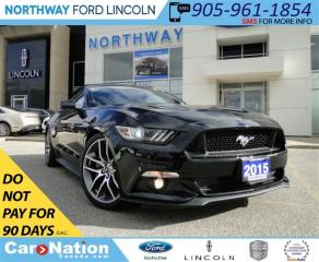 Used 2015 Ford Mustang GT | CONVERTIBLE | NAV | LEATHER | for sale in Brantford, ON