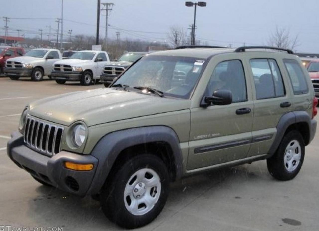 Photo of Green 2003 Jeep Liberty