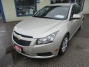 Used 2014 Chevrolet Cruze 'GREAT VALUE' POWER EQUIPPED LT MODEL 5 PASSENGER 1.4L - TURBO ENGINE.. CD/AUX/USB INPUT.. KEYLESS ENTRY.. for sale in Bradford, ON