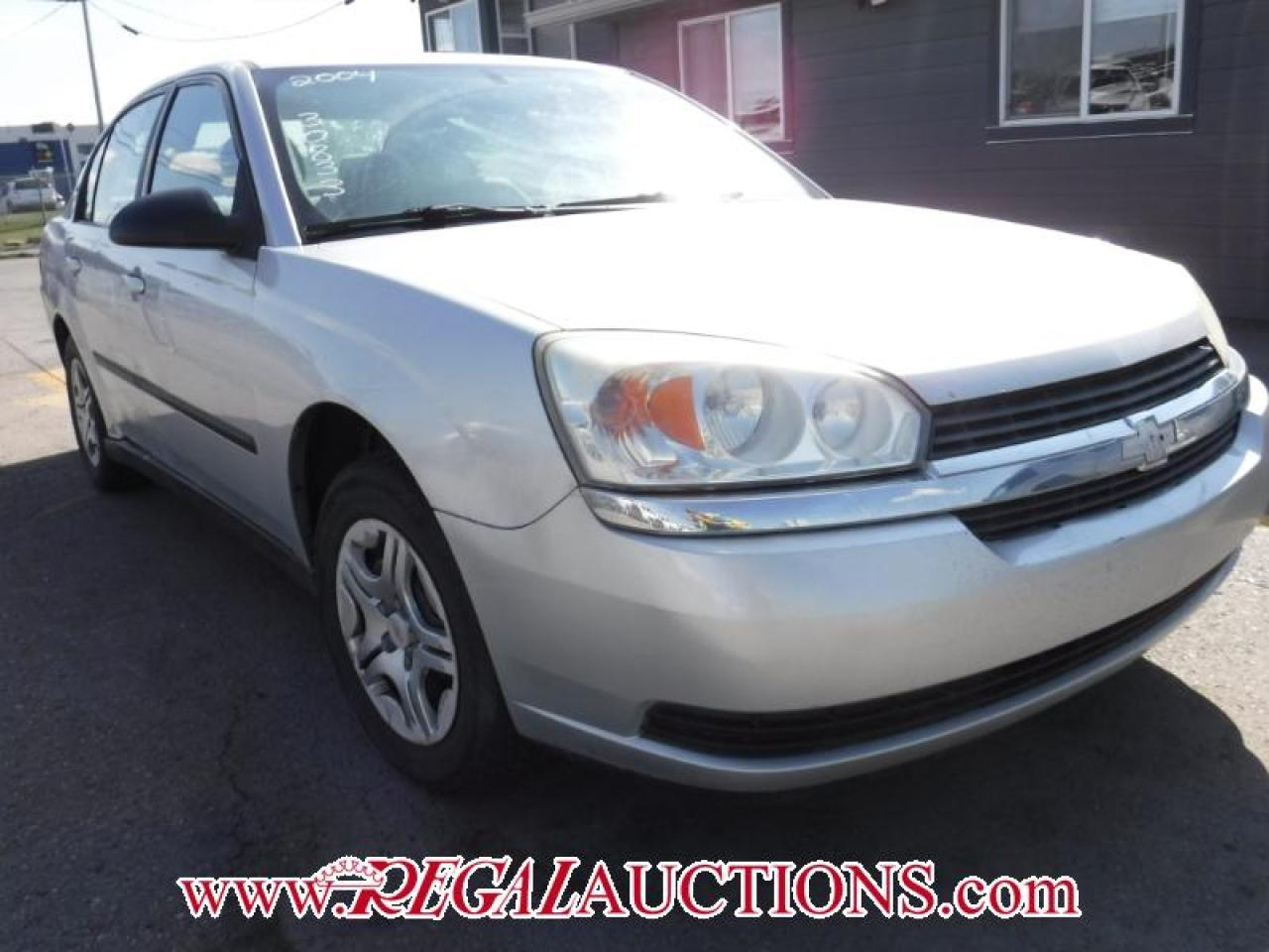 2004 Chevrolet MALIBU BASE 4D SEDAN