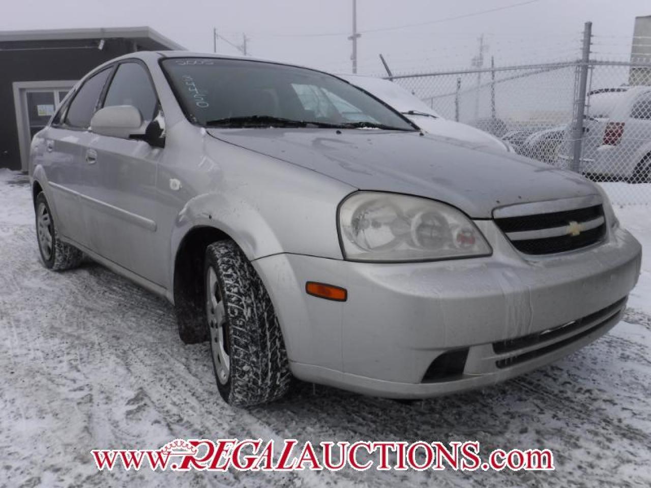 Photo of Silver 2005 Chevrolet OPTRA BASE 4D SEDAN