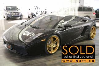Used 2004 Lamborghini Gallardo e-gear w/LOC Exhaust, Fresh Se for sale in Winnipeg, MB