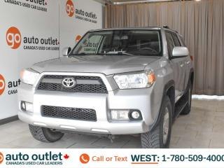 Used 2011 Toyota 4Runner SR5, 4wd, 4.0L V6, Third row 7 passenger seating, Heated front leather seats, Sunroof for sale in Edmonton, AB