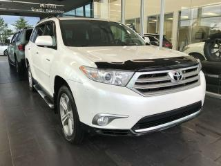 Used 2012 Toyota Highlander LIMITED 4WD, ACCIDENT FREE, KEYLESS IGNITION, NAVI, SUNROOF for sale in Edmonton, AB