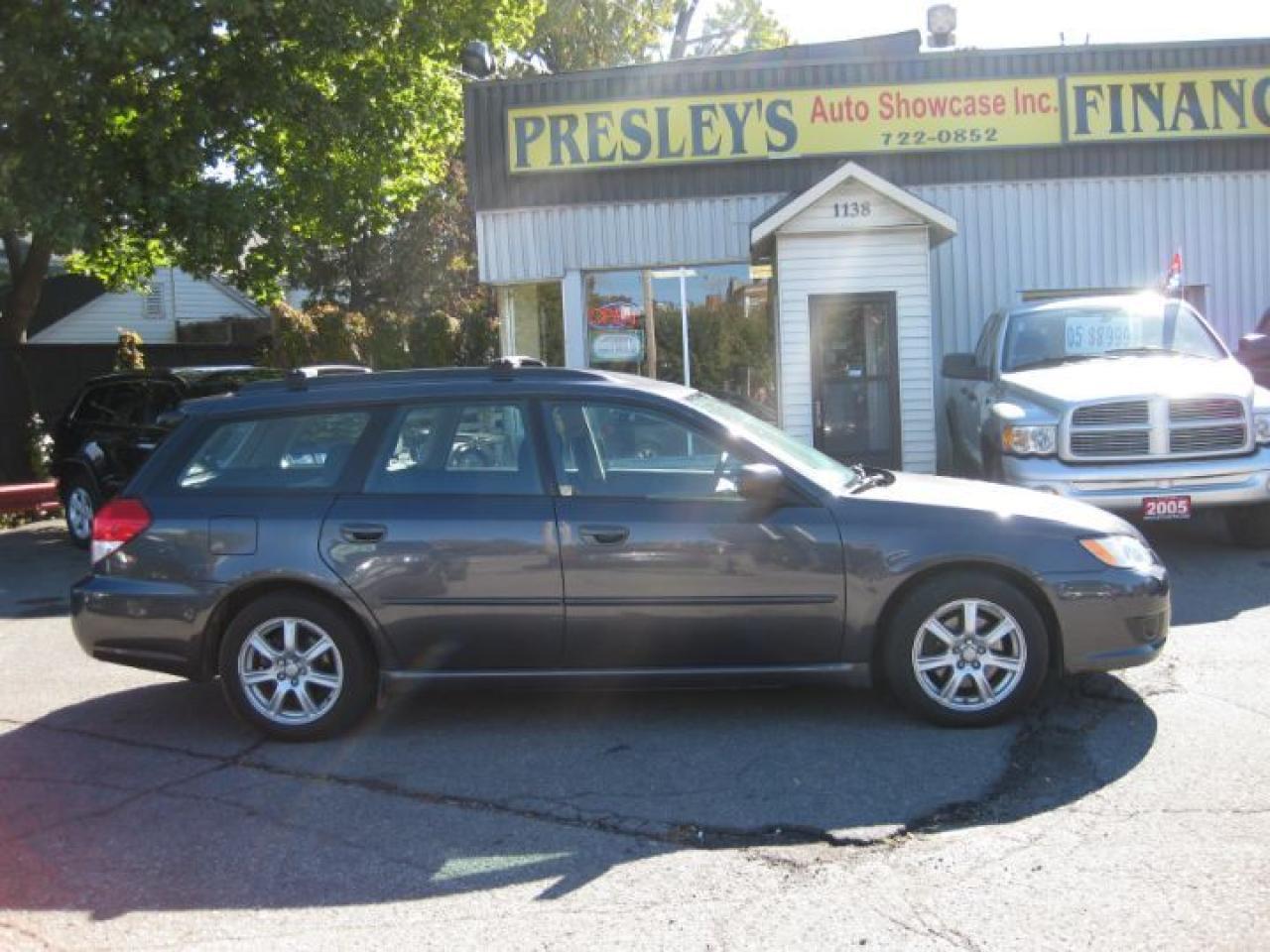 2008 Subaru Legacy 4cyl, AWD, 2.5L,htd seats, p/w p/l cruise, alloys
