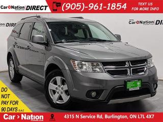 Used 2012 Dodge Journey SXT| LOCAL TRADE| 7-PASSENGER| for sale in Burlington, ON
