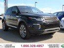 Used 2016 Land Rover Evoque HSE - CPO 6yr/160000kms manufacturer warranty included until September 26, 2022! CPO rates starting at 2.9%! Locally Owned and Serviced | No Accidents | Executive Demo | 3M Protection Applied | Navigation | Front/Rear Camera | Parking Sensors | Lane Depar for sale in Edmonton, AB