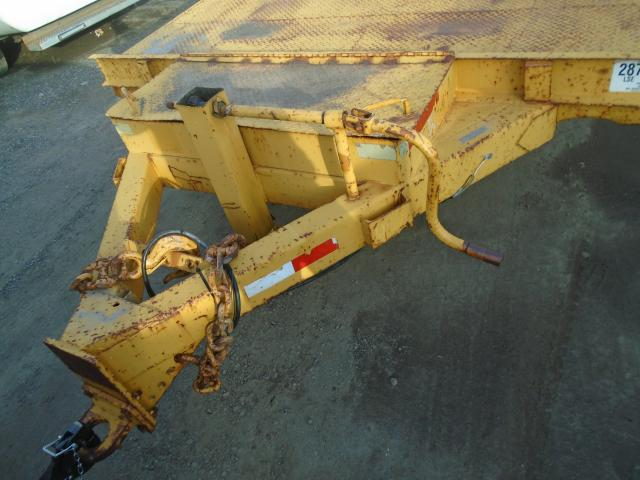 2006 AW T/A Equipment Trailer flat bed