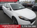 New 2016 Dodge Dart GT w/ NAVIGATION & SUNROOF for sale in Surrey, BC