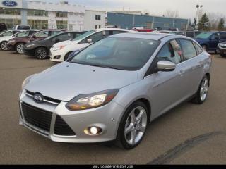 Used 2012 Ford Focus Titanium Sedan for sale in Lacombe, AB