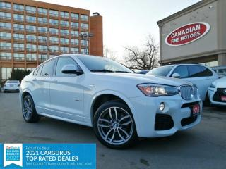 Used 2016 BMW X4 M SPORTS PKG   NAVI   CAM   PANO   4 NEW SNOW TIRES*   for sale in Scarborough, ON