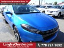 New 2016 Dodge Dart GT w/LEATHER &  NAVIGATION for sale in Surrey, BC