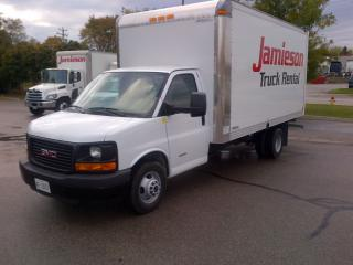 Used 2017 GMC 4500 16' gas with ramp for sale in Kitchener, ON
