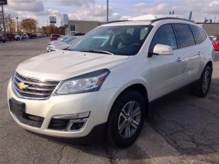 Used 2015 Chevrolet Traverse LT for sale in Windsor, ON