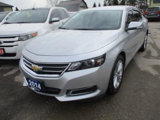 Used 2014 Chevrolet Impala LOADED 2-LT MODEL 5 PASSENGER 3.6L - V6.. LEATHER TRIM.. HEATED SEATS.. AUX/USB INPUT.. BLUETOOTH.. BACK-UP CAMERA.. for sale in Bradford, ON