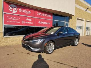 Used 2016 Chrysler 200 LIMITED 8.4 U CONNECT BACK UP CAMERA for sale in Edmonton, AB