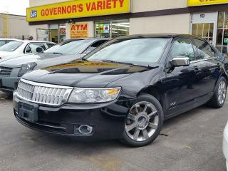 Used 2008 Lincoln MKZ AWD NAVI for sale in Dundas, ON