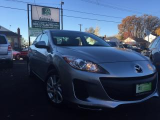 Used 2013 Mazda MAZDA3 SOLD for sale in Hamilton, ON