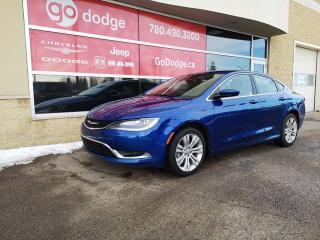 Used 2016 Chrysler 200 LIMITED U CONNECT 8.4 HEATED SEATS WHEEL for sale in Edmonton, AB