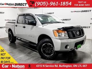 Used 2014 Nissan Titan | 4X4| LOCAL TRADE| TONNEAU COVER| for sale in Burlington, ON