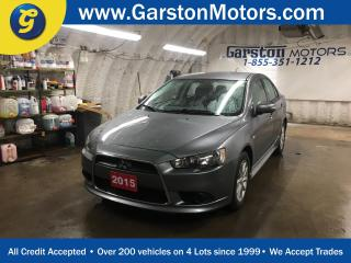 Used 2015 Mitsubishi Lancer SE*CVT*PHONE CONNECT*TRACTION CONTROL*HEATED SEATS*CLIMATE CONTROL* for sale in Cambridge, ON