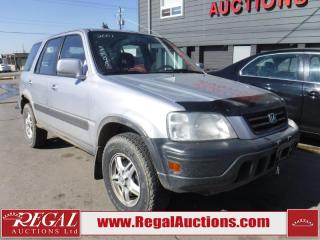 Used 2001 Honda CR-V 4D Utility 4WD for sale in Calgary, AB