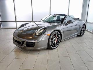 Used 2015 Porsche 911 Carrera 4 GTS Cabriolet   CPO   Ext. Warranty   Premium PLUS   18-way Seats for sale in Edmonton, AB