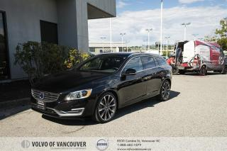 Used 2015 Volvo V60 T6 AWD CERTIFIED PRE-OWNED | BLUETOOTH | LEATHER | HEATED SEATS for sale in Vancouver, BC
