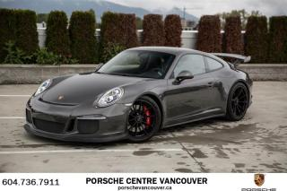 Used 2015 Porsche 911 GT3 Porsche Approved Certified. for sale in Vancouver, BC