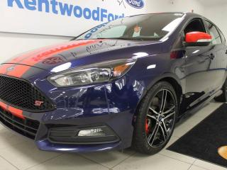 Used 2016 Ford Focus ST ST! NAV! BACK UP CAM! HEATED SEATS! If you don't buy it soon, I will! for sale in Edmonton, AB