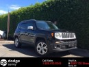Used 2015 Jeep Renegade Limited 4x4 + HEATED FT SEATS + BACK-UP CAM + MY SKY OPEN AIR + NO EXTRA DEALER FEES for sale in Surrey, BC