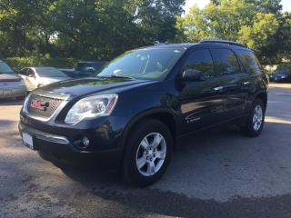 Used 2007 GMC ACADIA SLE-1 * DVD * POWER GROUP * 7 PASS for sale in London, ON