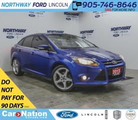 Used 2013 Ford Focus Titanium | NAV | LEATHER | PUSH START | SUNROOF | for sale in Brantford, ON