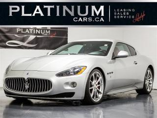 Used 2010 Maserati GranTurismo S 4.7, NAVI, PARK SENSORS, PADDLE SHIFT, LEATHER for sale in Toronto, ON