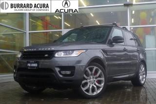 Used 2014 Land Rover Range Rover Sport V8 Supercharged (SC) With Navigation & Surround Camera! for sale in Vancouver, BC