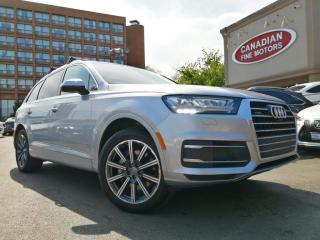 Used 2017 Audi Q7 TECHNIK PKG   7 PASS   NAVI   CAM   BSM   PANO   AWD   for sale in Scarborough, ON