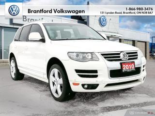 Used 2010 Volkswagen Touareg 2 Highline 3.6L 6sp at Tip 4XM for sale in Brantford, ON