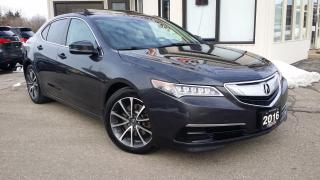 Used 2016 Acura TLX SH-AWD w/Tech Package - NAV! BACK-UP CAM! BSM! for sale in Kitchener, ON