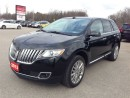 Used 2013 Lincoln MKX NAVI! LEATHER! SUNROOF! for sale in Aylmer, ON
