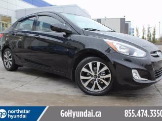 Used 2016 Hyundai Accent SE SEDAN BACK UP CAM SUNROOF/HEATEDSEATS/BLUETOOTH for sale in Edmonton, AB