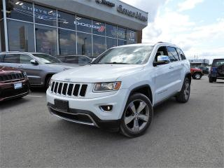 Used 2014 Jeep Grand Cherokee Limited NAVI/LEATHER/SUNROOF for sale in Concord, ON