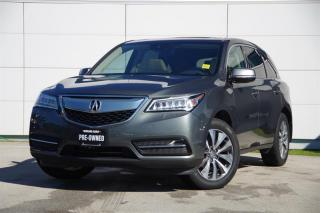 Used 2016 Acura MDX Tech *DVD Player* for sale in Vancouver, BC