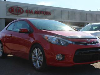 Used 2015 Kia Forte Koup EX, 6 SPEED, HEATED SEATS, BACKUP CAM, BLUETOOTH, CRUISE CONTROL, SIRIUS RADIO, USB / AUX for sale in Edmonton, AB