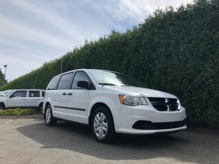 Used 2016 Dodge Grand Caravan Canada Value Package + NO EXTRA DEALER FEES for sale in Surrey, BC
