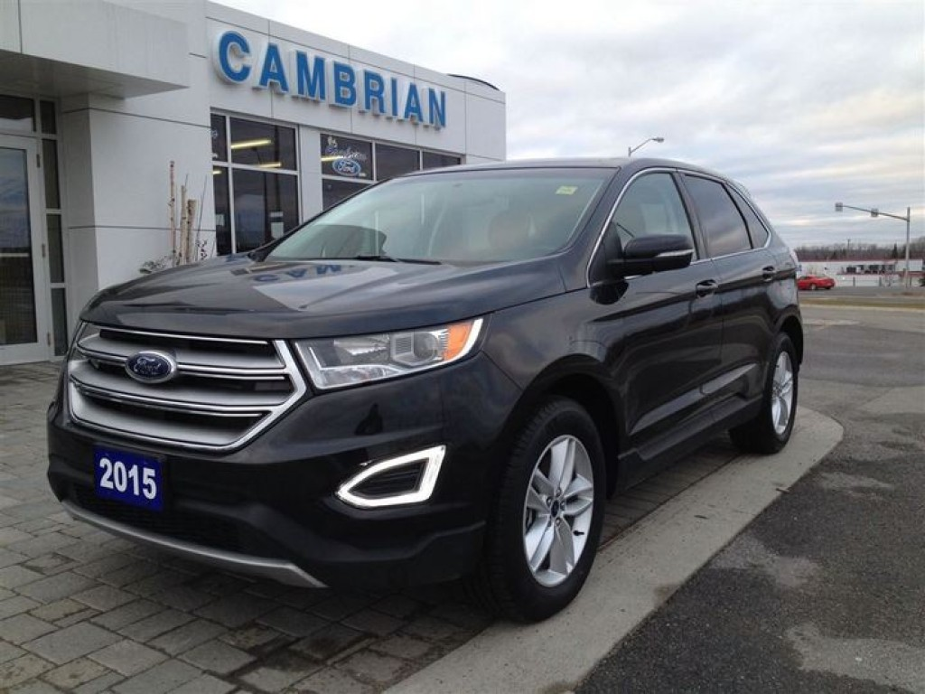 used 2015 ford edge sel bluetooth remote start for sale in sudbury ontario. Black Bedroom Furniture Sets. Home Design Ideas