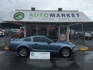 Used 2005 Ford Mustang V6 DELUXE COUPE AUTOMATIC & WARRANTY TOO!! for sale in Langley, BC