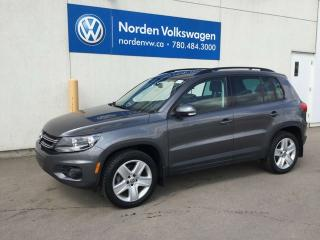 Used 2016 Volkswagen Tiguan COMFORTLINE 4MOTION AWD - VW CERTIFIED / LEATHER / SUNROOF for sale in Edmonton, AB