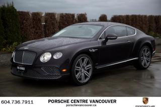 Used 2016 Bentley Continental GT Mulliner W12 for sale in Vancouver, BC