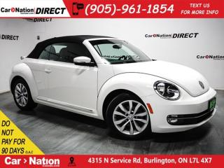 Used 2013 Volkswagen Beetle 2.5L Comfortline| NAVI| LEATHER| CONVERTIBLE| for sale in Burlington, ON